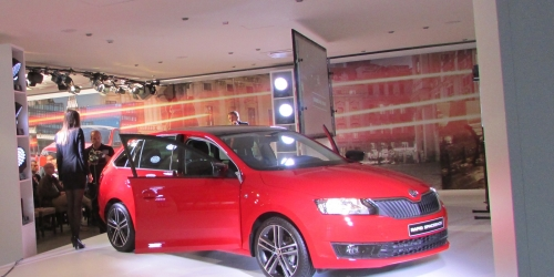 SKODA TRAINING RAPID SPACEBACK
